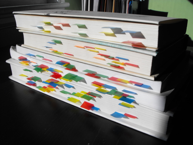 Sticky Tabs in Books